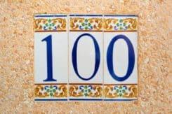 100 address