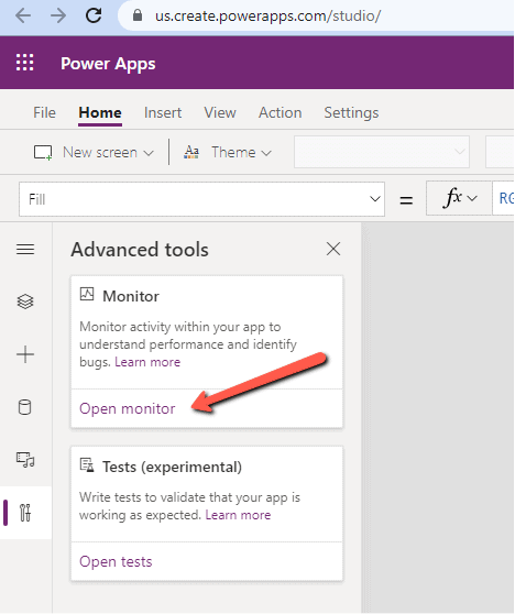 Power Apps Monitor