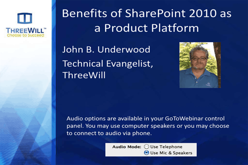 SharePoint as a Product Platform