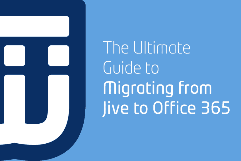 Migrating from Jive to Office 365