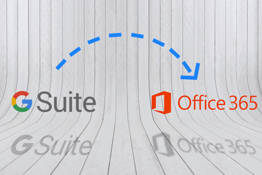 migrating from g suite to office 365