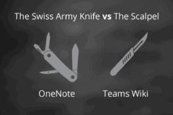 OneNote vs Teams Wiki