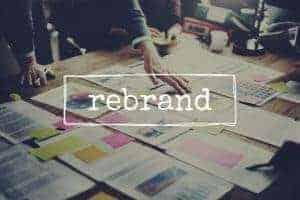 site re-branding