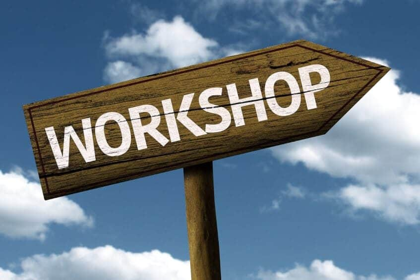 first step is a workshop